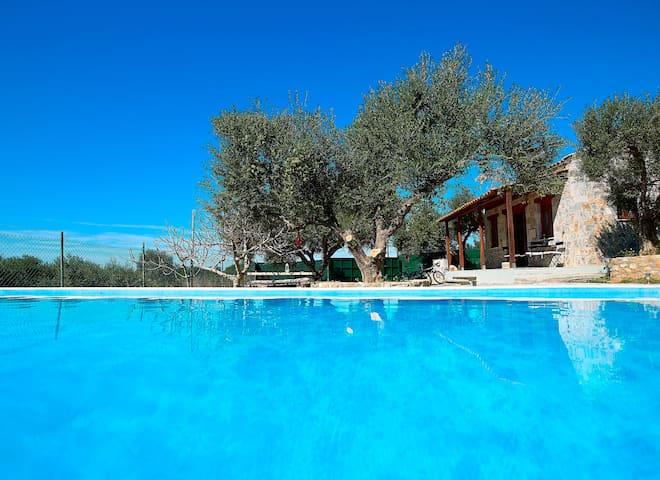 AMAZING ONE BEDROOM VILLA IN TERSANAS CHANIA - Chorafakia - Huvila