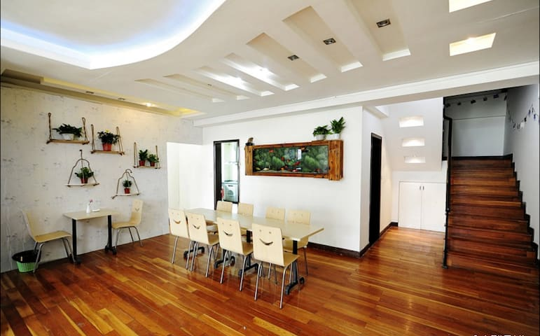 温暖清新的复式楼!掌柜做的一手好菜。热爱中国茶文化。 - Guiyang Shi - Apartamento