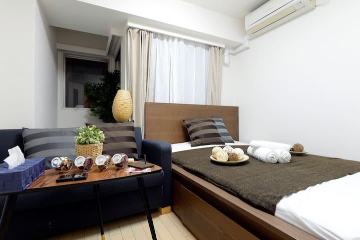 Roppongi/Elegant Duplex - Minato-ku - Huoneisto