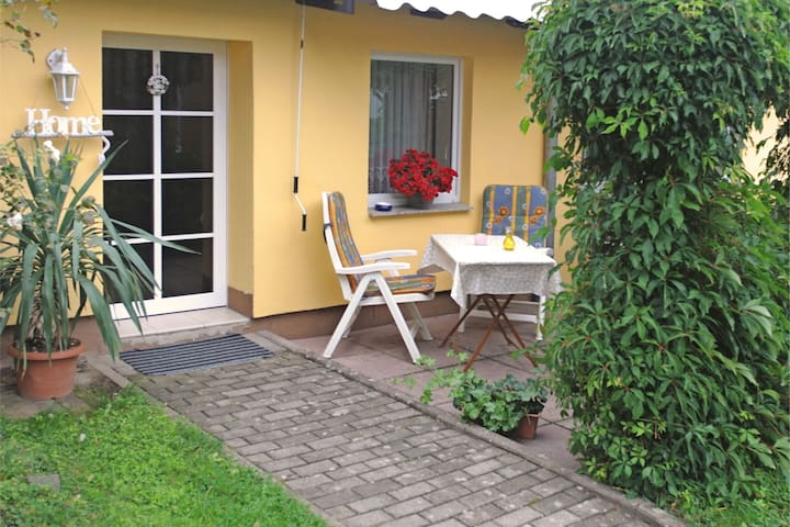 Small Holiday home in Dankerode with Private Terrace