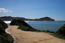 Praia do Rosa Sul.