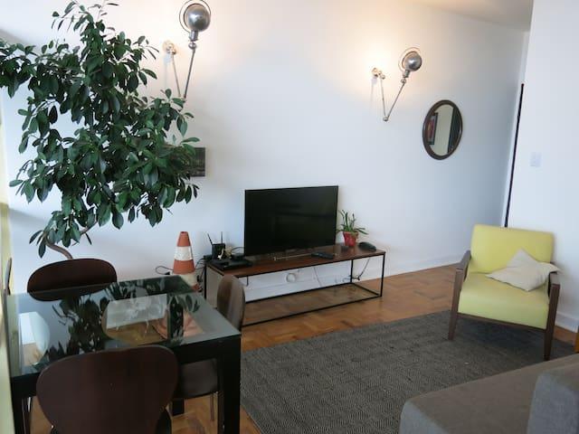 Charming n cozy loft very central - São Paulo - Appartement