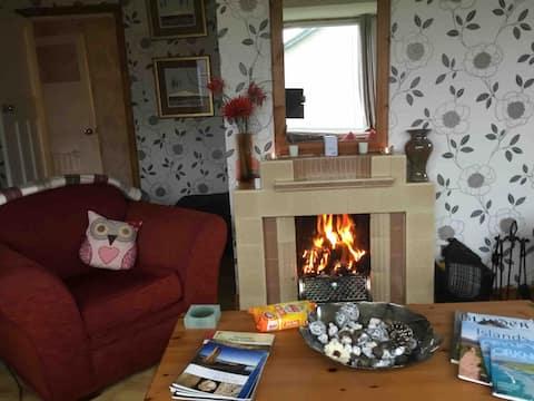 Chalet confortable de 2 chambres à la périphérie de Kirkwall,Orkney