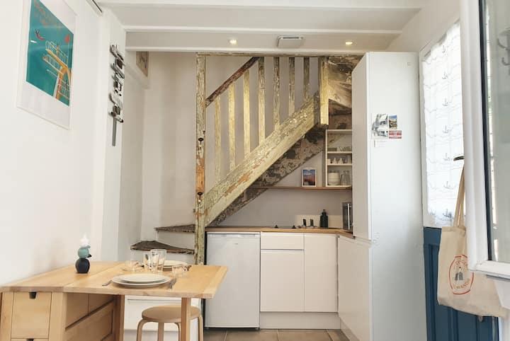 🏡 La Maisonnette | 30m² - 2pers. Hypercentre - Prox Gare & Plage