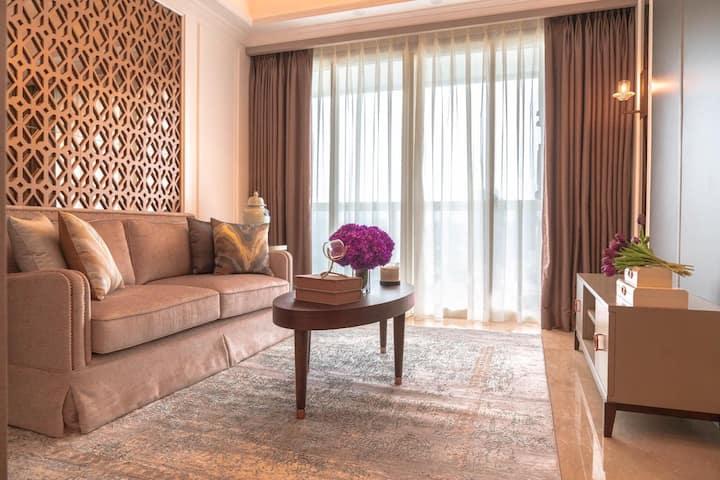 2BR - Private Lift, Elegant Apartment Menteng Park