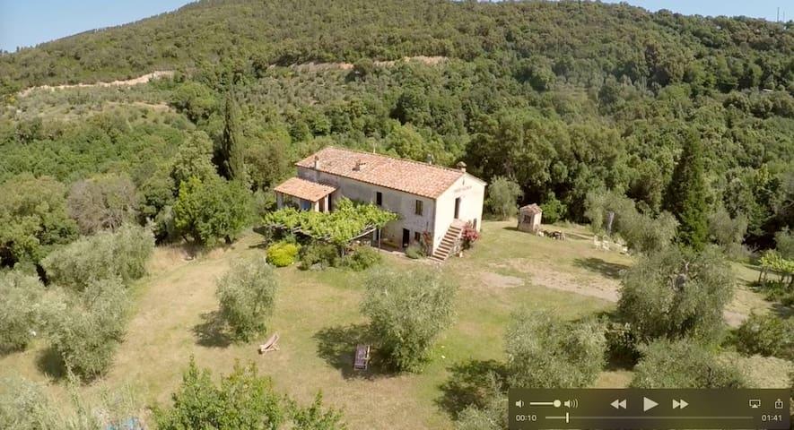 Idyll i. d. Alta Maremma(PHONE NUMBER HIDDEN) - Civitella Marittima - 一軒家