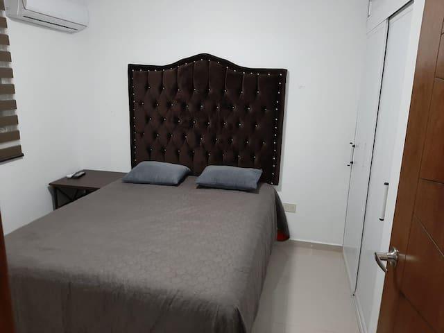 Recamara 2 con cama Matrimonial