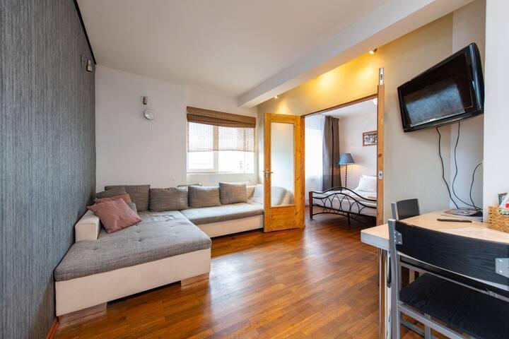 Cozy City Center 2-bedroom apartment