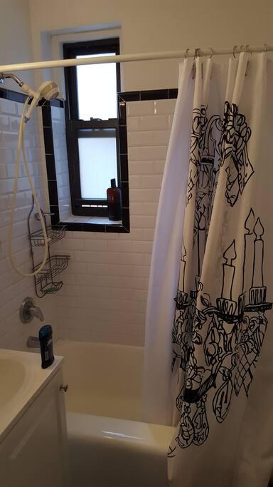 Refurbished Prewar-Style Tub and Tiles