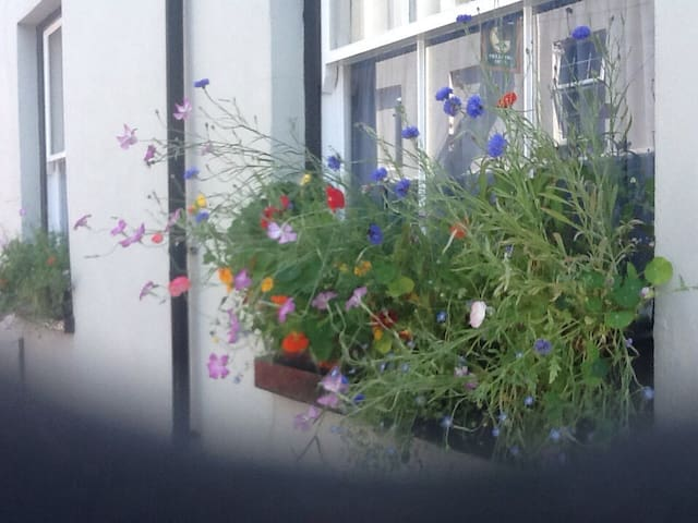 Double room in a waterside cottage, Plymouth
