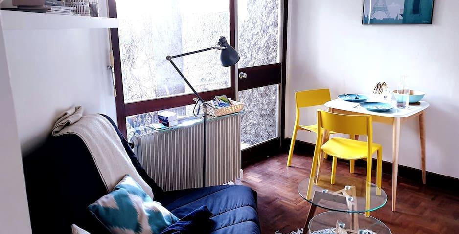 Chaleureux Studio ideal sejour Paris et Versailles