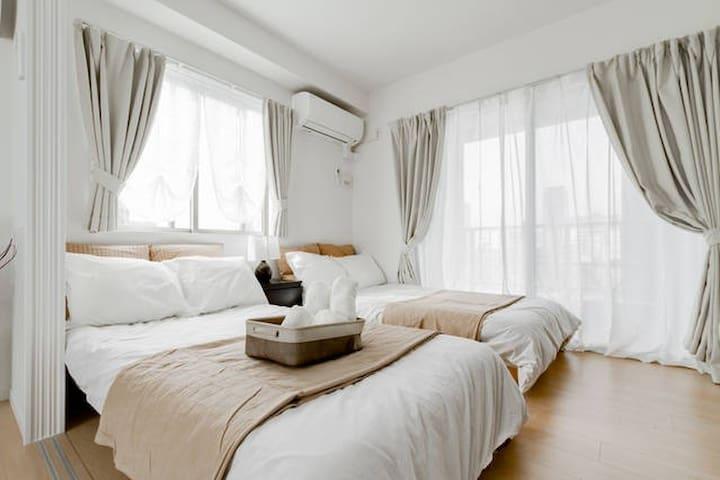 Cozy apartment near Namba, Dotonbori, WI-FI #801