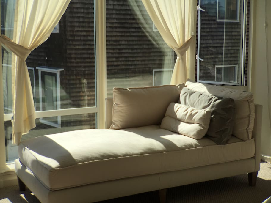 Brand new chaise is the most comfortable thing you will ever lounge on.