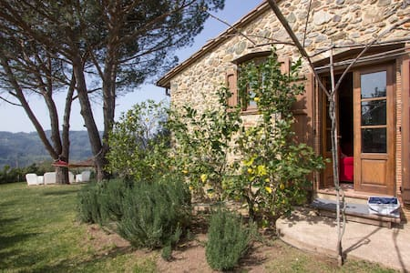 Lovely stone house with sea view - Camaiore