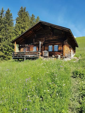 little house in Simmental Valley