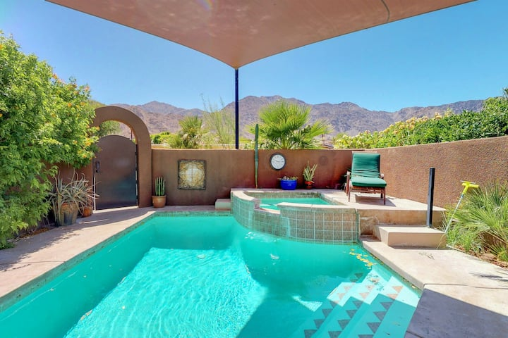 Elegant House w/ Great Outdoor Space, Private Pool & Spa - 3BR - #766636