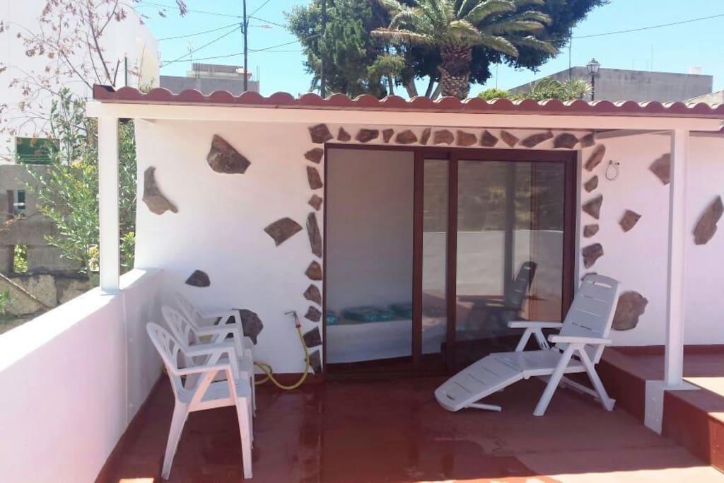 Terraza (terrace roof)