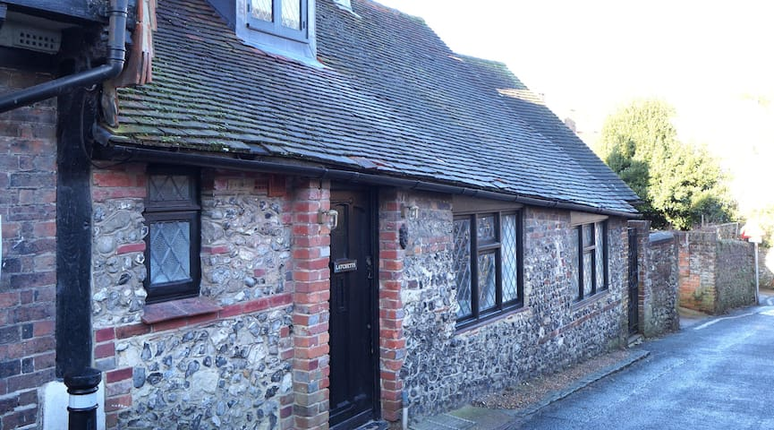 Latchetts Cottage, the old Anne of Cleve's Dairy,