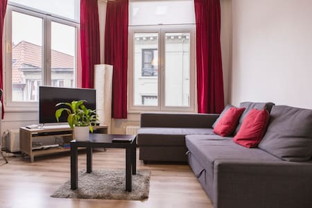 Trendy flat @ Antwerp hotspot WI-FI - Anvers - Appartement
