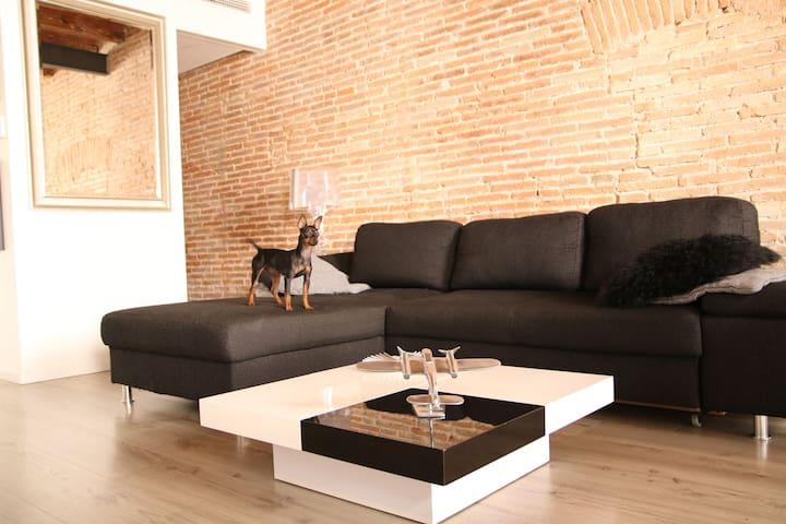 cosy double room Barcelona center