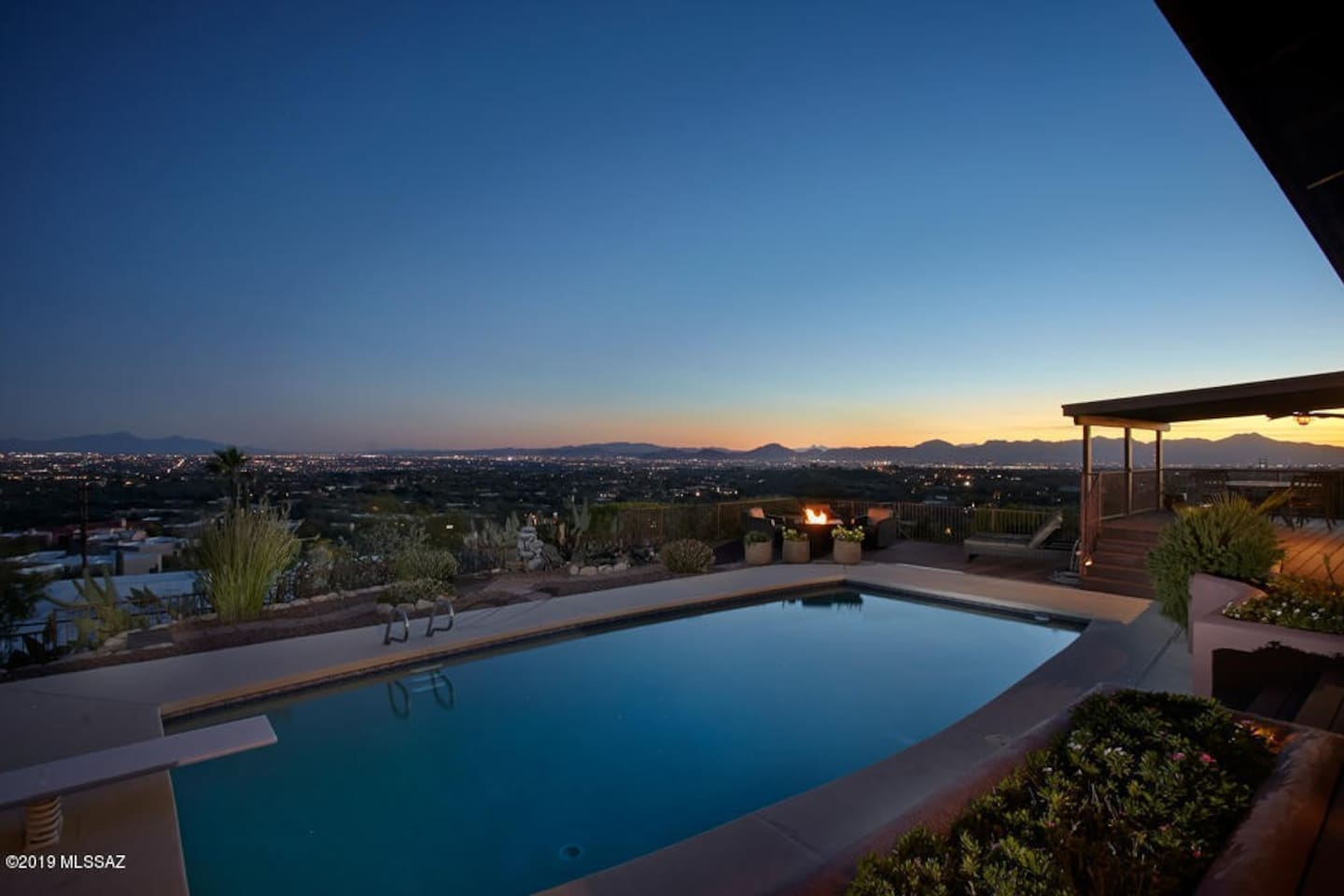 This luxurious Executive view home with Pool is your oasis in Tucson