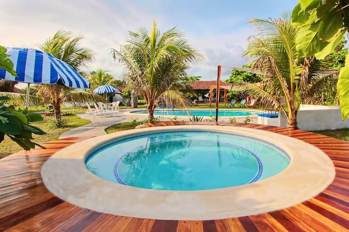 Somar Surf camp & lodge (Ocean view Bungalow) - Salinas Grandes - Bungalow