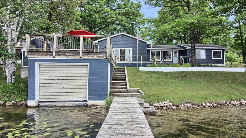 3rd Night Free:Clam Lake Cottage-Torch Lake Access