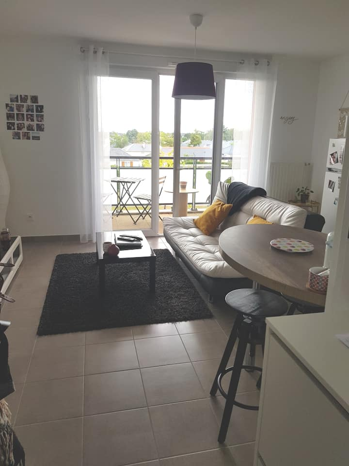 Appartement lumineux Tours Nord