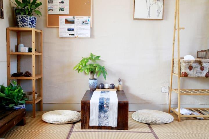 「问答」,专业导游的日式空间,近中山路鼓浪屿 - 厦门 - Huis