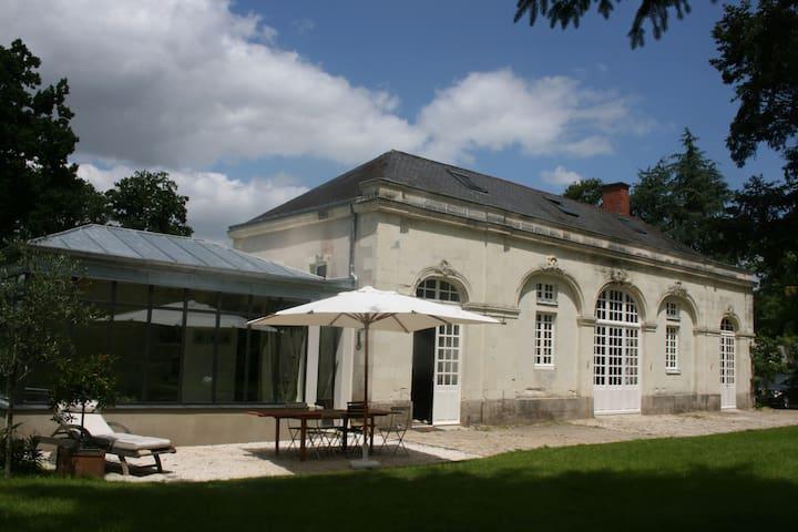 Orangerie du XVIIIème - Basse-Goulaine - บ้าน
