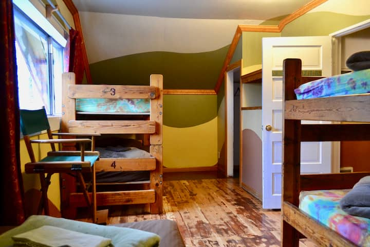 Cozy Male Dorm Beds at Hostel Oz
