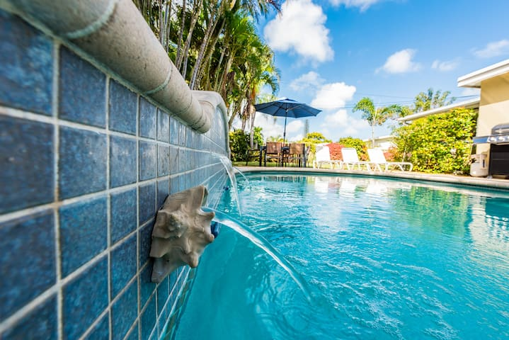 Zen Tropical Garden | Heated Pool | Near Beach