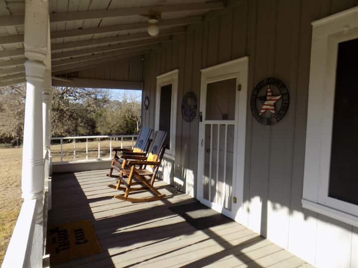 Comanche Creek Ranch Trigger Cabin