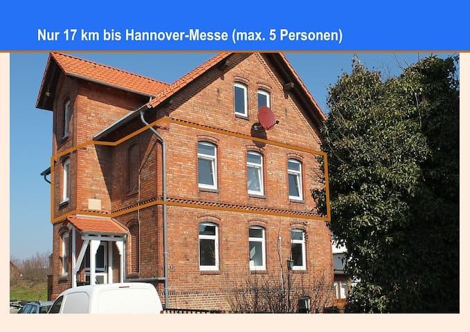Ganze Etage - nur 17 km bis zur Hannover-Messe