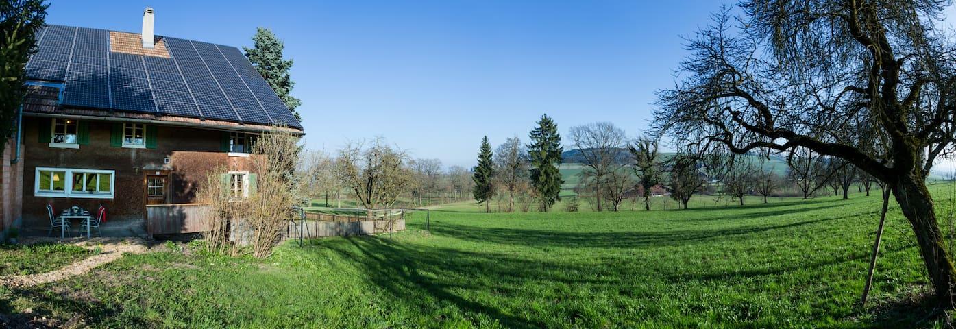 Altes Bauernhaus auf dem Land - Nottwil - Dům