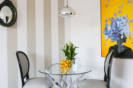 Apartament Czarno na Białym