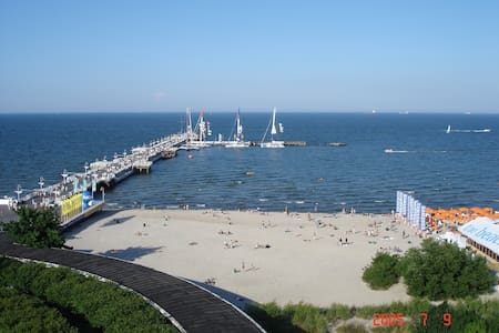 Nice Apartment in Sopot center,Miły Apartament ,po - 索波特 - 公寓