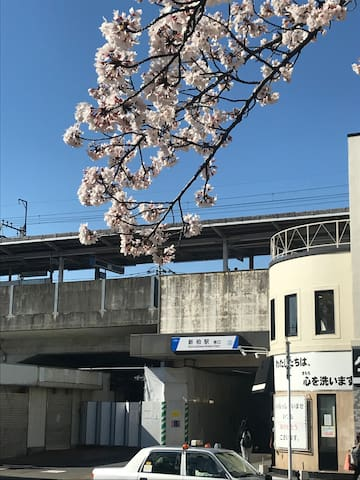 The nearest station, Shin-Kashiwa