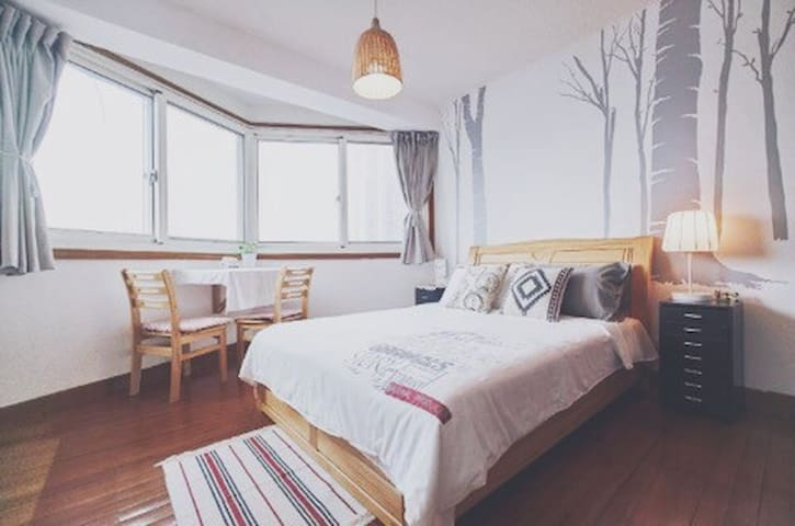 【BU舍】田子坊对面温馨公寓/独立房间/可做饭 - 上海 - Apartment