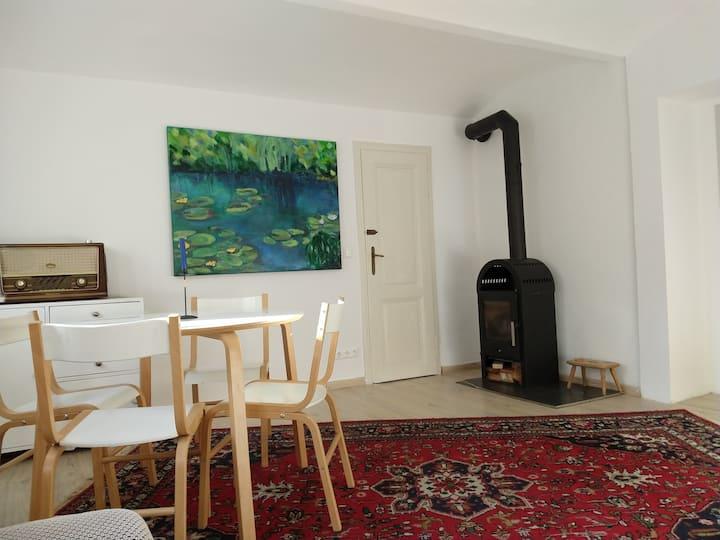 Gemütliche Wohnung in sanierter Gründerzeit-Villa