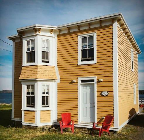 Cozy house on the coastline