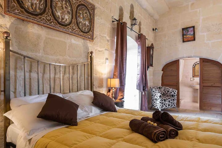 Family room in traditional farmhouse - Gozo