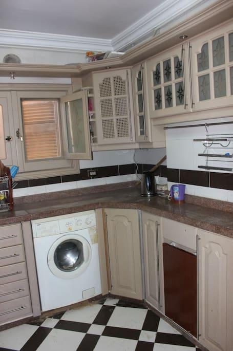 Kitchen washing machine