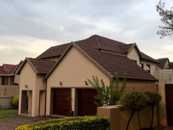 Well maintained and modern home in a secure estate