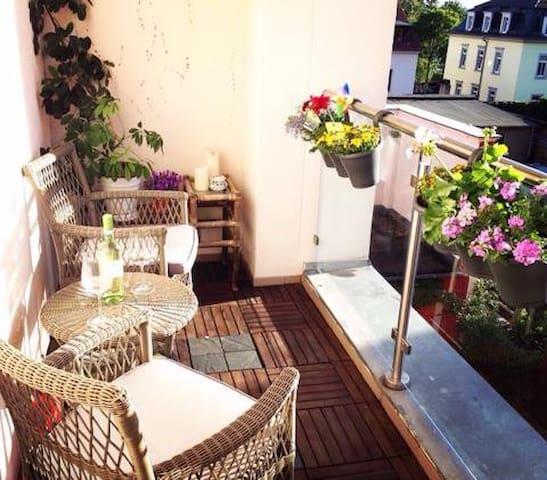 Cosy Bedroom in the famous hip quarter Neustadt
