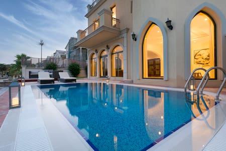 California Beach Style 3 Story Villa