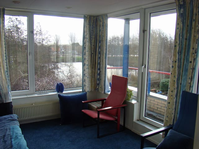 Large room in Haarlem  between Amsterdam and coast