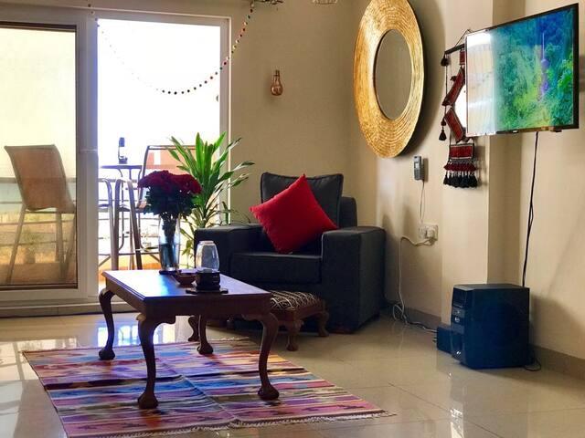 Breathtaking beach view apartment