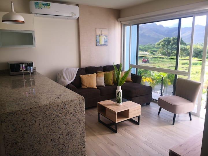 Abraza el Aire Fresco, Apartamento Playa Caracol.