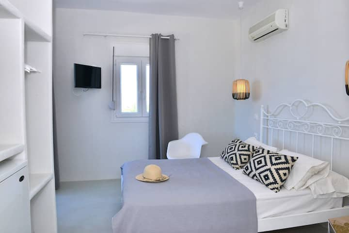 Sunset deluxe double room with panoramic sea view